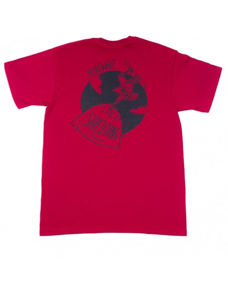 T-SHIRT STILL/RED