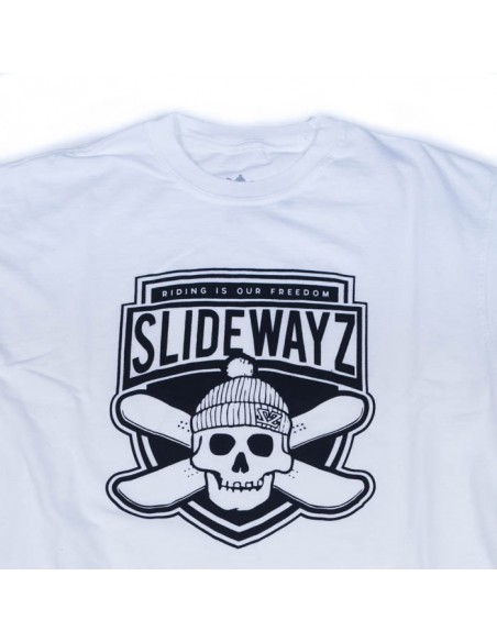 T-SHIRT SHIELD/WHT
