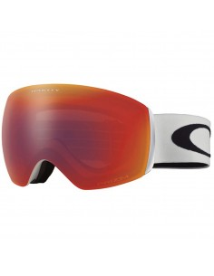 OAKLEY FLIGHT DECK XM MATTE WHITE / TORCH IRIDIUM