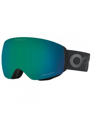 OAKLEY FLIGHT DECK XM FACTORY PILOT BLACKOUT / PRIZM JADE IRIDIUM