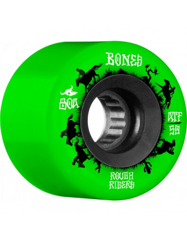 BONES ATF ROUGH RIDERS WRANGLERS 59MM 80A GREEN