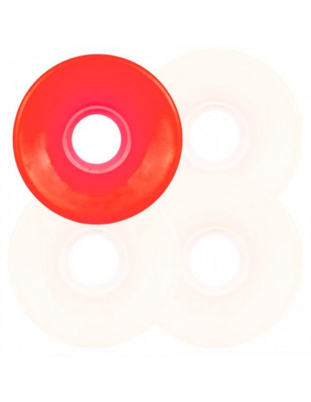 OJ WHEELS SUPER JUICE WHITE N RED 60MM 78A