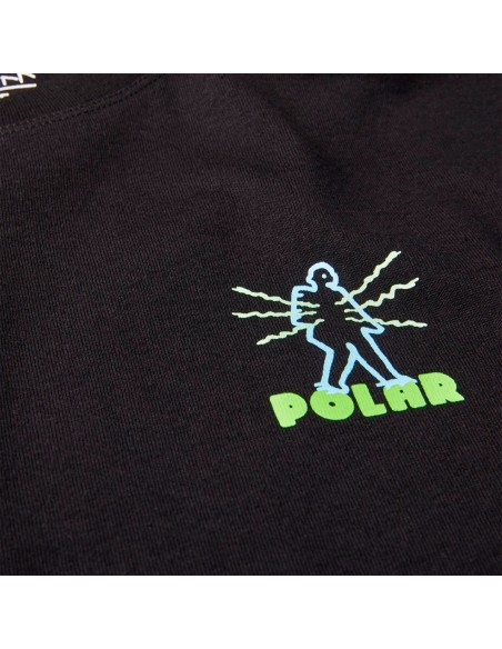 POLAR SKATEBOARDS ELECTRIC MAN CAMISETA